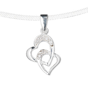 Pendants Cubic Zirconia Clear