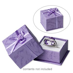 Gift and Presentation Boxes Paper Purples / Lavenders