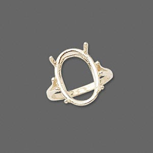 Ring Settings Karat Gold Gold Colored