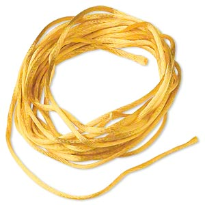 Cord Satin Gold Colored