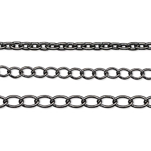 Unfinished Chain Gunmetal Greys
