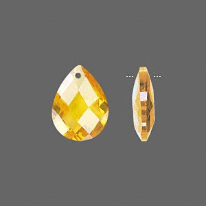 Drops Cubic Zirconia Yellows
