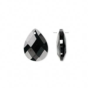 Drops Cubic Zirconia Blacks