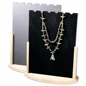 Necklace Displays Other Wood Blacks