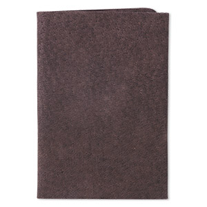 Scrap, Leather (dyed), Brown, 9-1/4 X 3-1/2 Inch Square. Sold Individually