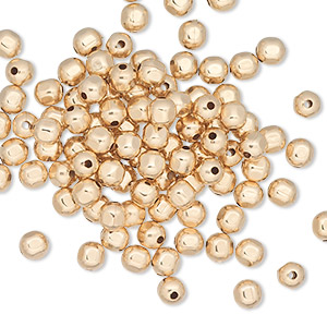 Spacer Beads Gold-Filled Gold Colored