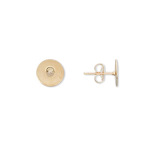 Earstud Components Gold-Filled Gold Colored