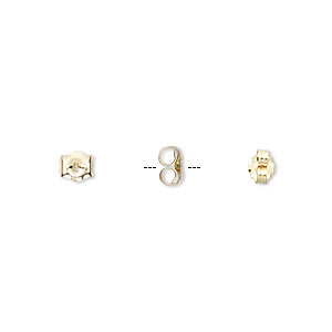 Earnuts Karat Gold Gold Colored