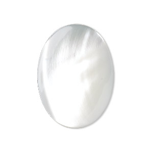 Cabochons Mother-Of-Pearl Whites