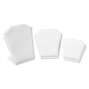 Multipurpose Displays Leatherette Whites