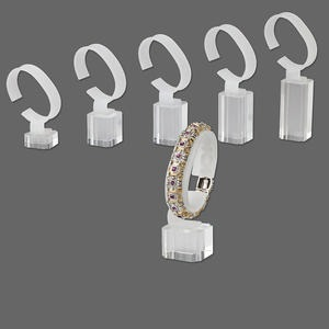 Bracelet Displays Acrylic Clear
