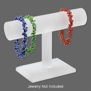 Bracelet Displays Acrylic Whites