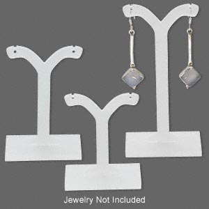 Earring Displays Acrylic Whites