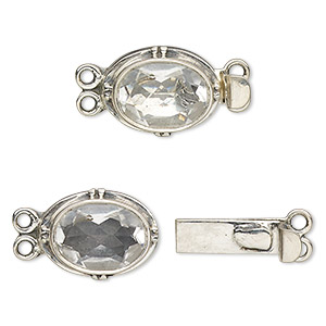 Box (Tab) Clasp Sterling Silver Whites