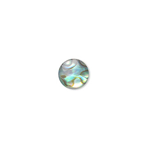 Cabochons Paua Shell Multi-colored