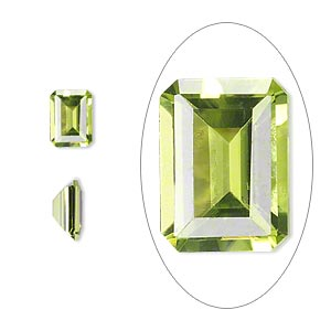 Faceted Gems Grade A Peridot