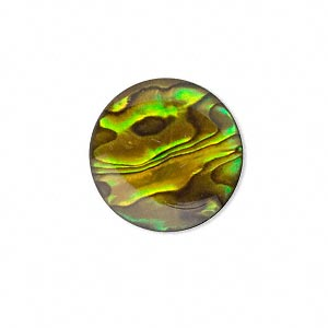 Cabochons Paua Shell Yellows