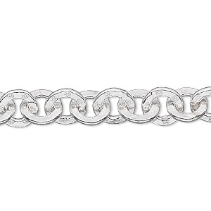 Unfinished Chain Fine Silver Silver Colored