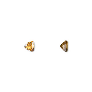 Faceted Gems Grade A Citrine