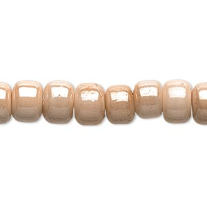 Beads Glass Beige / Cream