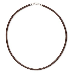 Other Necklace Styles Leather Browns / Tans