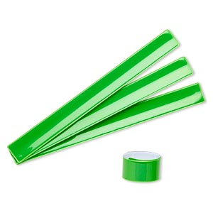 Slap Bracelets Greens Just for Fun