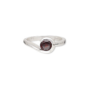 Finger Rings Garnet Reds