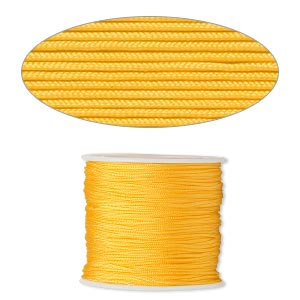 Cord Imitation Silk Yellows