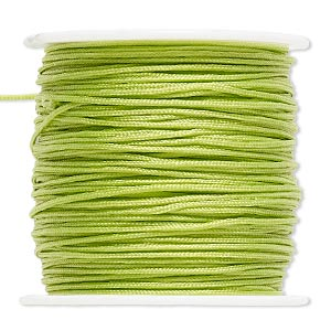 Cord Imitation Silk Greens
