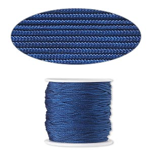 Cord Imitation Silk Blues