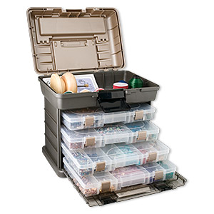 Carrying Cases Other Plastics Silver Colored
