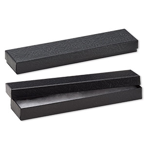 Cotton-filled Boxes Paper Blacks