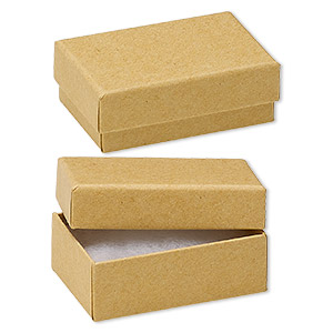 Cotton-filled Boxes Paper Browns / Tans