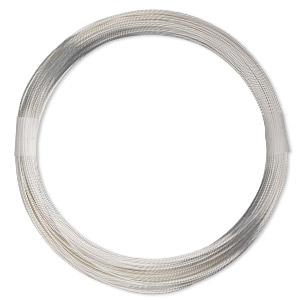 5 Feet Sterling Silver Wire 20 Gauge Round Dead Soft
