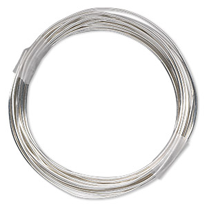 Wire-Wrapping Wire Sterling Silver-Filled Silver Colored