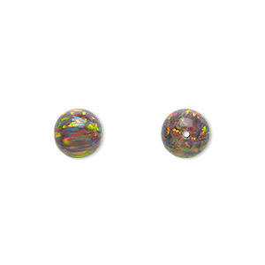 Beads Mexican Opal Multi-colored
