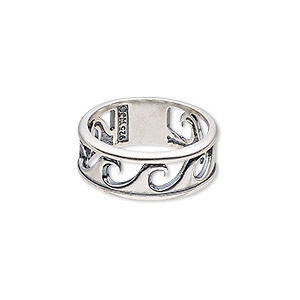 05f141d7b1d6ce Finger Rings Sterling Silver Silver Colored