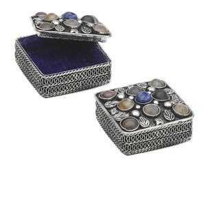 Gift and Presentation Boxes Nickel Silver Colored