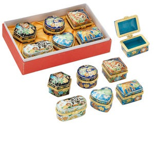 Gift and Presentation Boxes Cloisonné Multi-colored