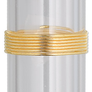 French Wire Vermeil Gold Colored