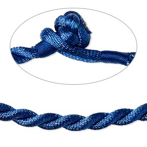 Necklace Cords Nylon Blues