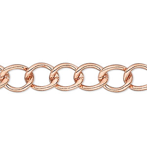 Chain Bracelets Copper Copper Colored