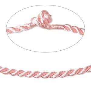 Necklace Cords Nylon Pinks
