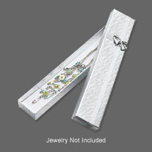 Gift and Presentation Boxes Paper Silver Colored