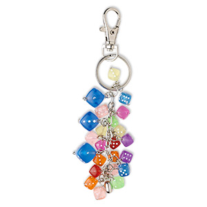 Key Ring Gifts Nickel Multi-colored