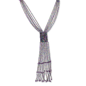 Y Necklaces Purples / Lavenders Everyday Jewelry