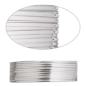 9-Meter Beadalon Half Round Wire 316L Stainless Steel 20 Gauge