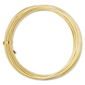 Wire-Wrapping Wire Aluminum Gold Colored