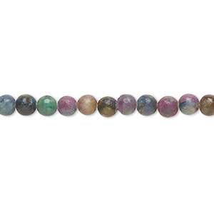 D39 Ruby Kyanite Gemstone Grade AA Micro Faceted Round 6MM 8MM Loose Beads