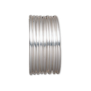 Wire, sterling silver-filled, half-hard, round, 16 gauge ...